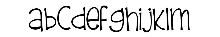 PNFirefly Font LOWERCASE