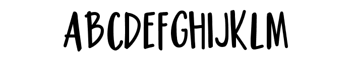 PNHousewife Font LOWERCASE