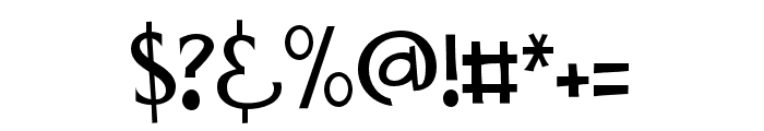 PNMidnightSnack Font OTHER CHARS