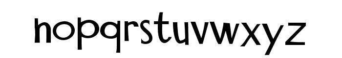 PNMidnightSnack Font LOWERCASE