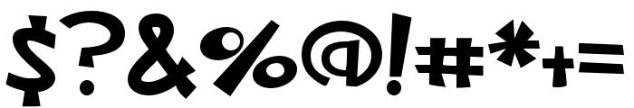 PNNickelFettucine Font OTHER CHARS