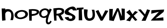 PNNickelFettucine Font LOWERCASE