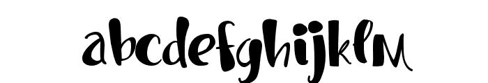 PNOctopusSocks Font LOWERCASE
