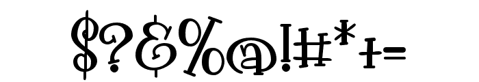 PNPollywag Font OTHER CHARS