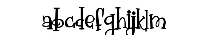 PNPollywag Font LOWERCASE