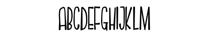 PNSnollygoster Font UPPERCASE