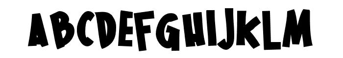 PNThinkingFastBold Font UPPERCASE