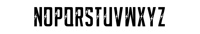 POSTER-ELECTRIC Font LOWERCASE