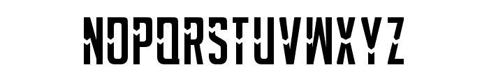 POSTER LINEPOR Font UPPERCASE