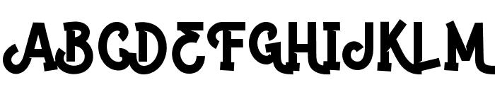 Paddingtoons  Font UPPERCASE