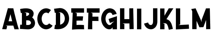 Paddingtoons  Font LOWERCASE