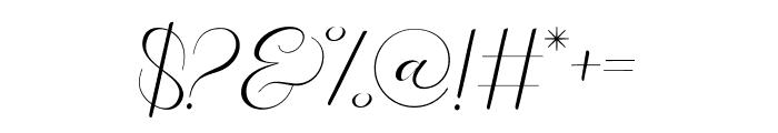 Paech Golden Font OTHER CHARS