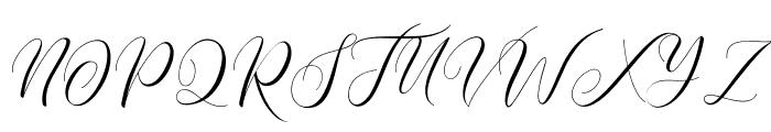Paech Golden Font UPPERCASE