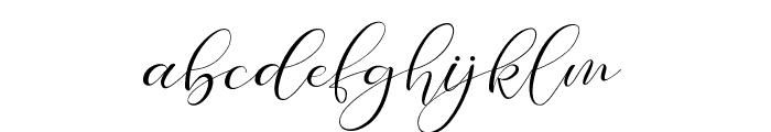 Paech Golden Font LOWERCASE