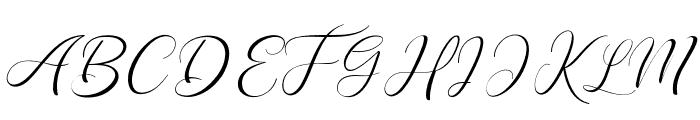 PaechGolden Font UPPERCASE