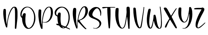 Painted Gallery Font UPPERCASE