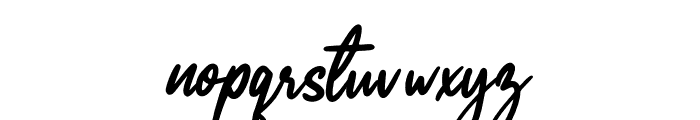 Painted Font LOWERCASE