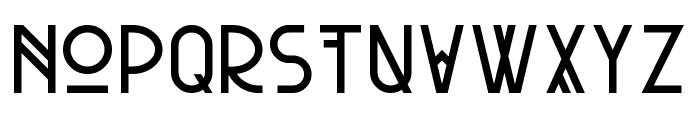 Pandora Ep2 Font UPPERCASE
