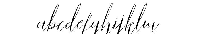 ParlinttonsScript Font LOWERCASE