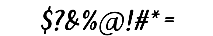 Pars Italic Font OTHER CHARS