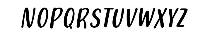 Pars Italic Font UPPERCASE