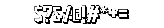 Pasatona Shadow Font OTHER CHARS
