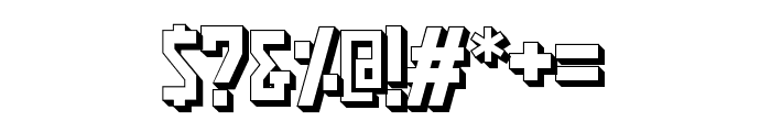 PasatonaShadow Font OTHER CHARS