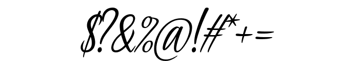 Passionate Message Font OTHER CHARS
