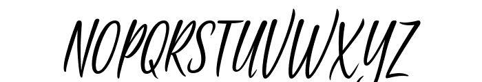 Passionate Message Font UPPERCASE