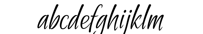 Passionate Message Font LOWERCASE