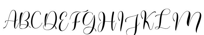 Pastela Font UPPERCASE