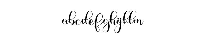 Pastela Font LOWERCASE