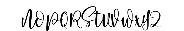 Pavlova Font UPPERCASE