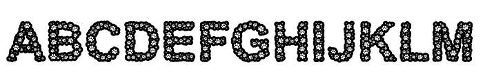 Paw Thick Font LOWERCASE