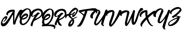 PayonScriptRegular Font UPPERCASE