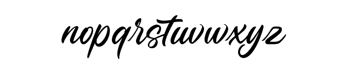 Penleigh Font LOWERCASE