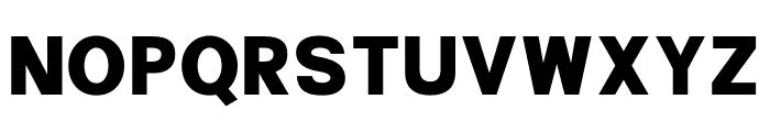 Peter Quincy Sans Font UPPERCASE
