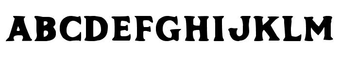 Phalanx by Mark Richardson Bold Font UPPERCASE