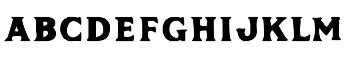 Phalanx by Mark Richardson Bold Font LOWERCASE