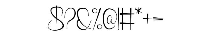 Phanthomim Font OTHER CHARS