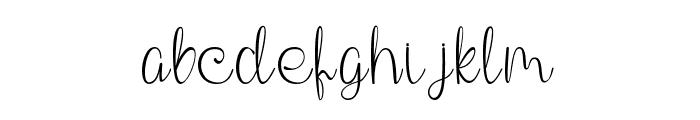 Phanthomim Font LOWERCASE