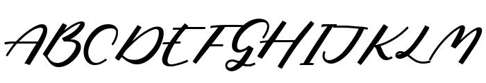 Phantom Rider Font UPPERCASE