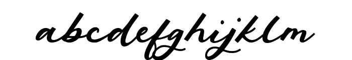 Phantom Rider Font LOWERCASE