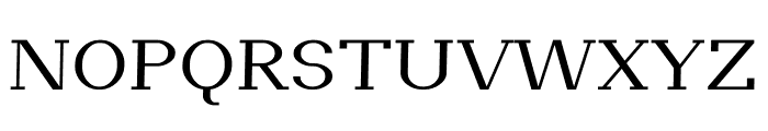 Pickup regular Font UPPERCASE