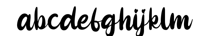 Pinky Cupid Font LOWERCASE