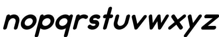 Pinky Italic Font LOWERCASE