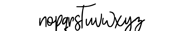 Pinky Sweet Font LOWERCASE