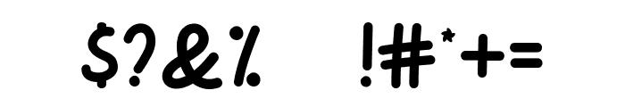 Pinky Unicorn Font OTHER CHARS