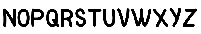 Pinky Unicorn Font UPPERCASE