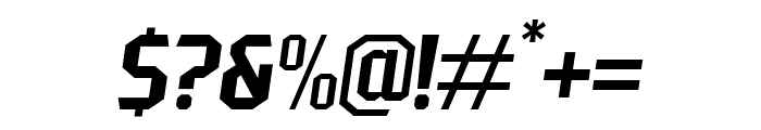 PittsbrookSans-Italic Font OTHER CHARS